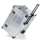 Zarges K 424 XC aluminium kist verrijdbaar